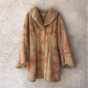 Vintage Penny Lane faux fur coat
